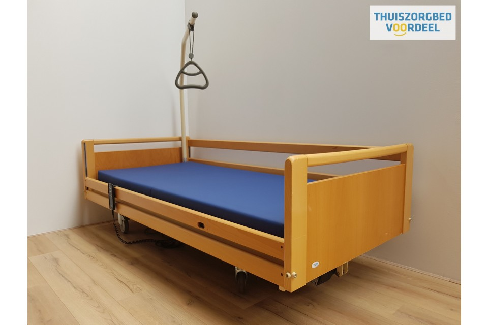 Hoog laag bed Invacare (140) VERLENGDE UITVOERING 220cm