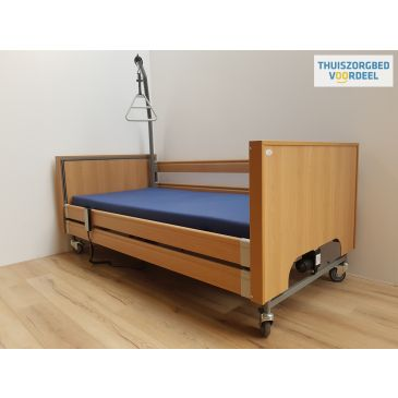 Hoog laag bed Ecofit S Plus kleuren: Ahorn, Naturel Eiken, Noten, Walnoot